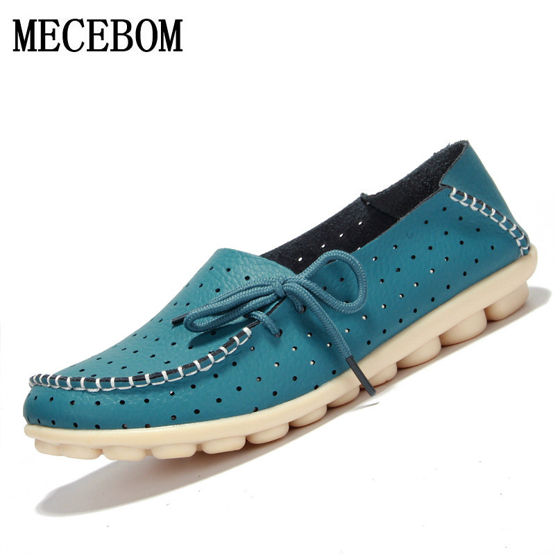 2018 Shoes Woman Leather Women Shoes Flats 7 Colors Loafers Slip On Women's Flat Shoes Moccasins Plus Size 816W 2017 new leather women flats moccasins loafers wild driving women casual shoes leisure concise flat in 7 colors footwear 918w