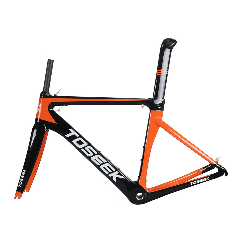 все цены на carbon Bicycle road frame Di2 Mechanical racing bike carbon road frame 2018 road bike fork+seatpost+headset онлайн