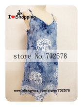 Women Elephant Print Cami Dress Floral Ethnic Casual Dresses Boho Gypsy Cheap Clothes China vestido festa Summer Style Plus Size