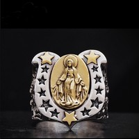 Кольцо мужское чистое серебряное кольцо 925 Чистое серебряное кольцо Mali кольцо