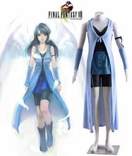Free Shipping Final Fantasy VIII Rinoa Heartilly Dress Game Cosplay Costume