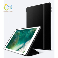 For Ipad 2018 Case New Drop Resistance Silicone Ultra Slim Smart Flip Stand Cover for Ipad 6th Generation Gadget A1893 A1954