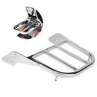 SilverChrome Motorcycle Rear Sissy Bar Luggage Rack for Honda Shadow VT750 C2 1997 1998 1999 2000 2001 2002 2003 Car Accessory