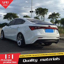 Для MG 6 GT Спойлер Высокое качество ABS Материал заднего крыла Праймеры Цвет задний спойлер для mg 6 GT Спойлер