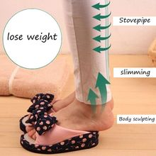 SWYIVY Women Slimming Shoes Stovepipe Body Sculpting Half-feet 2018 Lose Wight Massage Female Toning Negative Heel