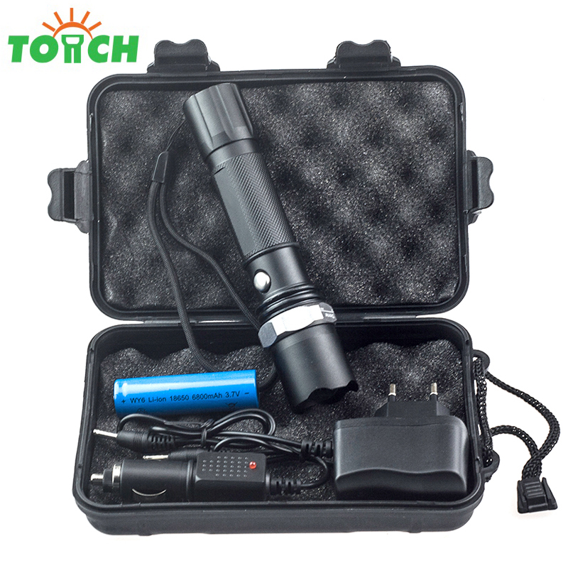High Quality Cree Q5 Bulb Portable Led Lighting Zoomable Powerful Flashlight Waterproof Torch for Bicycle Camping Tent high quality q5 led flashlight cree torch rechargeable 18650 battery light powerful lights portable camping equipment lighting