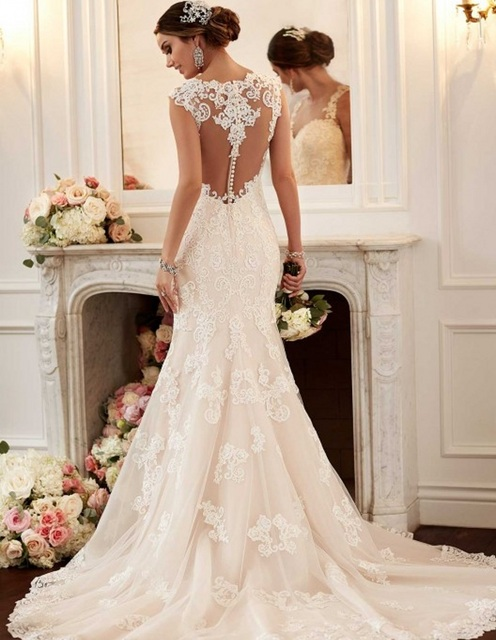Vintage wedding dress 2016 robe de mariage casamento cheap for Can t decide on wedding dress