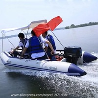 High Quality Amusement Park Water Play Equipment Drifting Inflatable Boat Anti collision Fishing Boat For Adults Teenagers