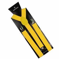 Winfox 1 дюймов широкий черный красный желтый Y-Back клип на женщин мужчин подтяжки