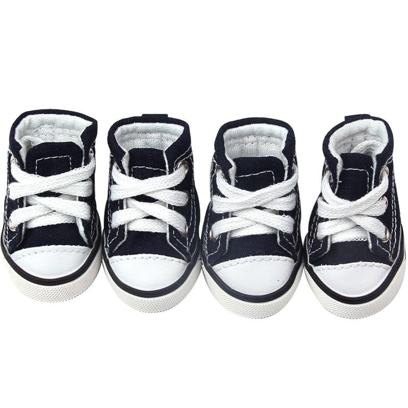 Pet Chaussures Rose L Toile Chien Bleu Sport x4n8qa