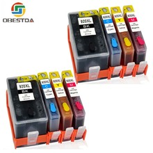 8pcs Obestda Compatible Ink Cartridges For HP 920 Deskjet 6000 6500 7000 7500A printers cartridge For HP920 XL 920XL with chip