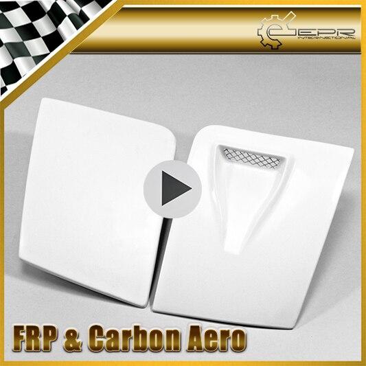 Accessoires de voiture pour Mazda MX5 NA MK1 Miata FRP couvercle de phare ventilé en Fiber de verre (seulement ventilé LHS) capuchon de lampe de pare-chocs en Fiber de verre