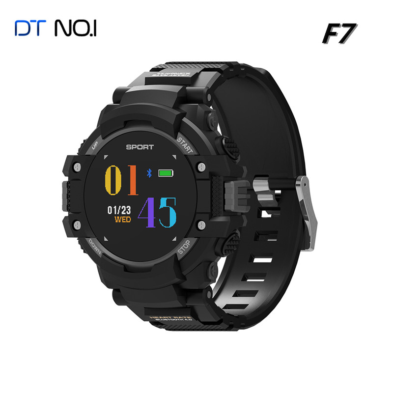 DTNO.1 F7 GPS Smart watch Wearable Devices Activity Tracker Bluetooth 4.2 Altimeter Barometer Compass GPS outdoors watch 2018 dtno i f5 gps smart watch wearable devices activity tracker bluetooth 4 2 altimeter barometer thermometer gps sport watch