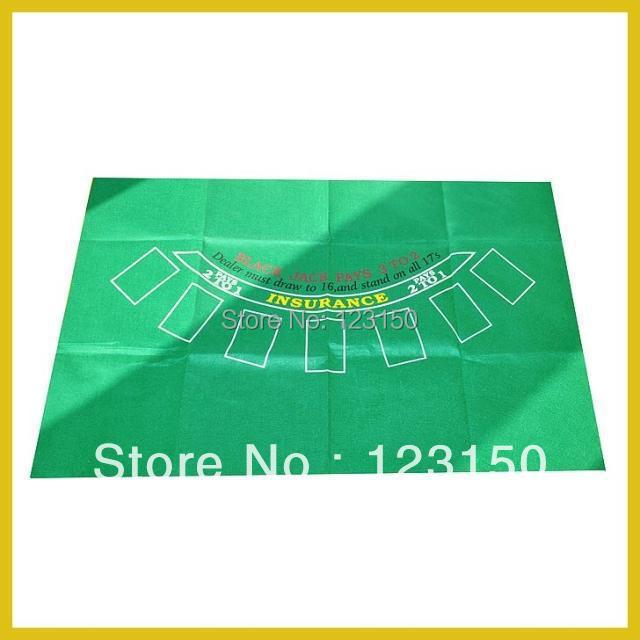 ZB-009-2  Non-woven Fabric   Texas Holdem Table Cloth For Blackjack 60x90cm