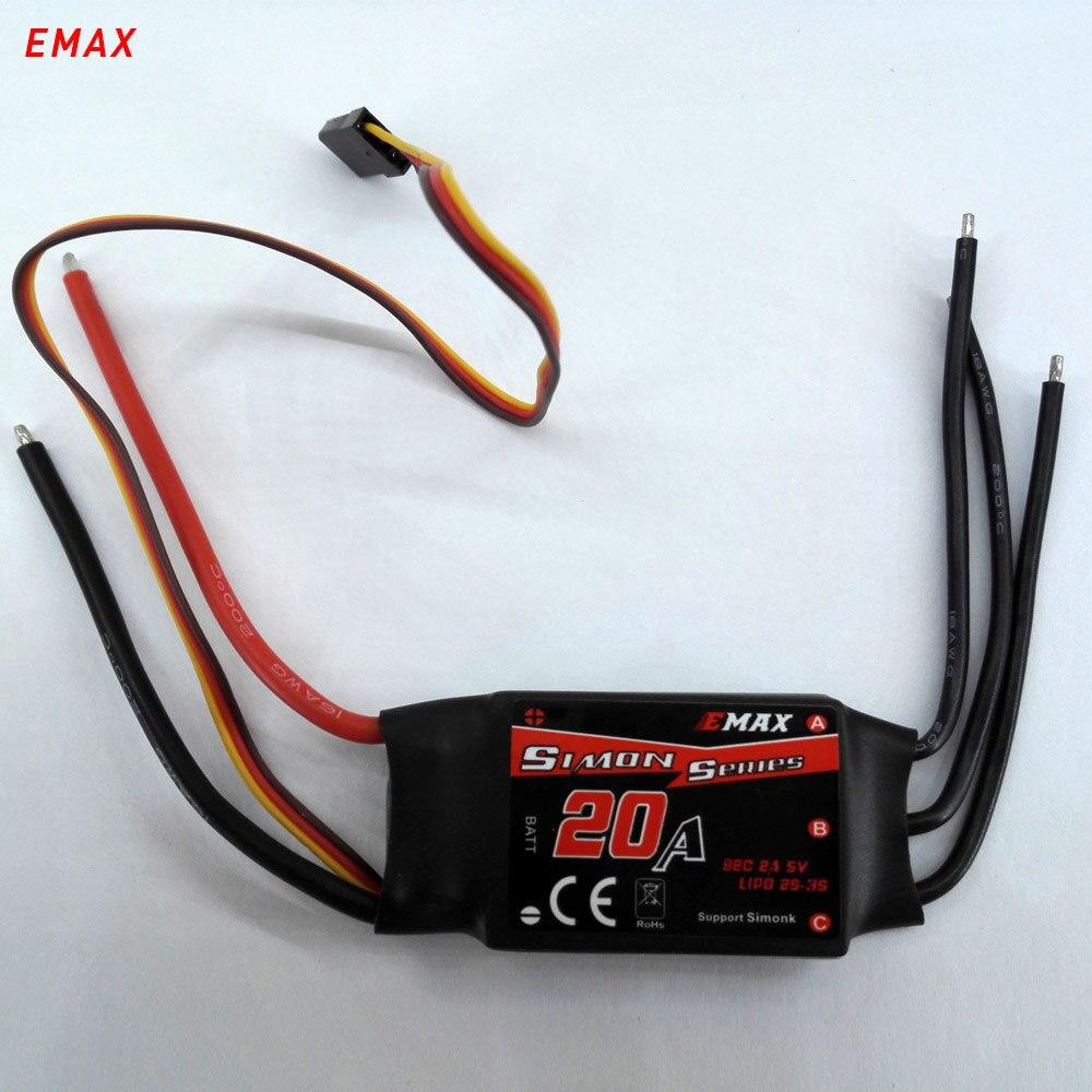 4 шт. EMAX simonk esc 20a drone quadcopter multirotor безщеточный скорости для rc модели ИЗБР частей