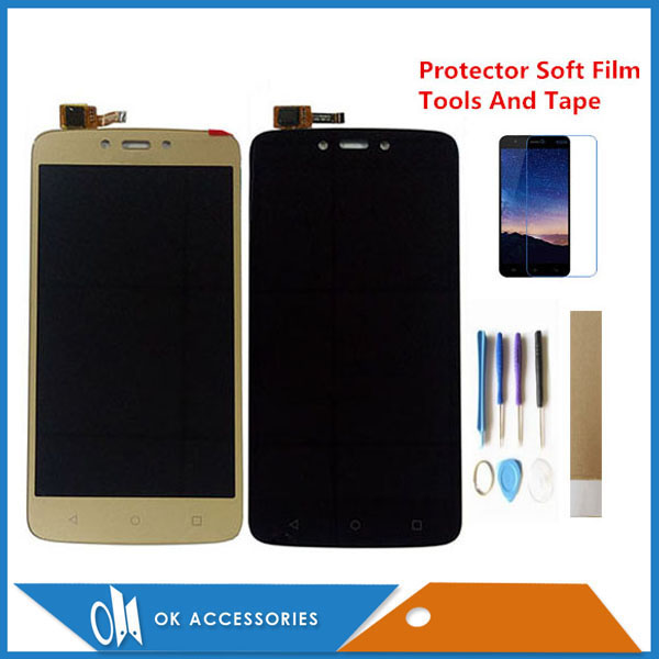 Cannot Be Used In Mexico For Motorola Moto C Plus XT1721 XT1722 <font><b>XT1723</b></font> XT1724 LCD Display Touch Screen Digitizer With Kits image