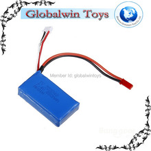7.4V 1000Mah Li-Polymer Lipo Battery Spare Parts For WLToys V912 V262 4Ch Single Propeller Radio Control RC Helicopter Model
