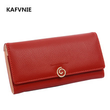 Fashion Luxury PU Leather Women Wallet Long solid simple Women's Purse brand female Wallet Lady fashion evening Bag clutch