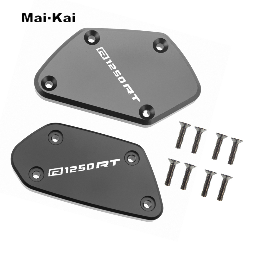 MAIKAI FOR BMW R1250RT R1250 RT R 1250RT 2019 CNC Motorcycle Brake Fluid Fuel Tank Cover Cap in Covers Ornamental Mouldings from Automobiles Motorcycles
