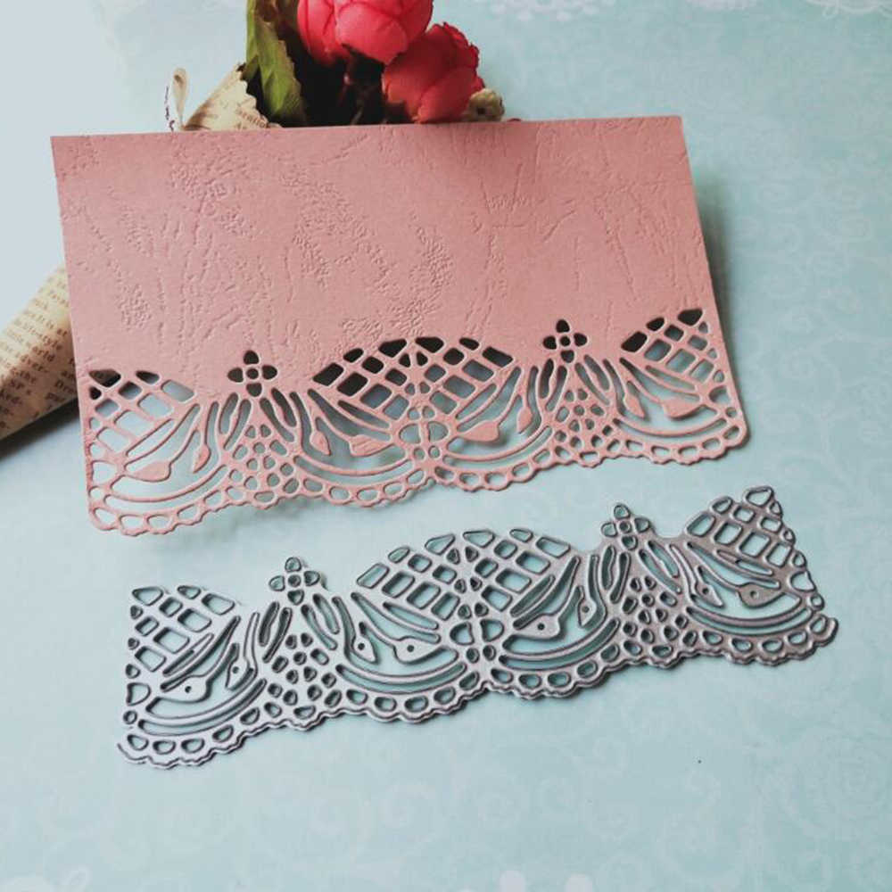 Hollow Lace Metal Dies Scrapbooking Metal Cutting Dies New 2018 Craft Stamps Die Cut Embossing Card Make Stencil Frame