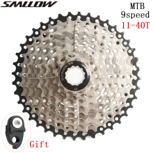 SUNSHINE-SZ 9 Speed Cassette 11-40T Wide Ratio Freewheel MTB Bike  Bicycle Cassette Flywheel Sprocket Compatible with Sunrace ztto 9 speed cassette 11 40 t wide ratio freewheel mountain bike mtb bicycle cassette flywheel sprocket compatible with sunrace