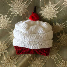 2014 cute heart-shaped lovely baby hats and caps kids boy girl handmade crochet photography props babyhat