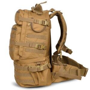 Image 2 - Sac à dos militaire classique, sacoche militaire étanche en Nylon 50l, randonnée camping Camouflage, grande capacité pour hommes