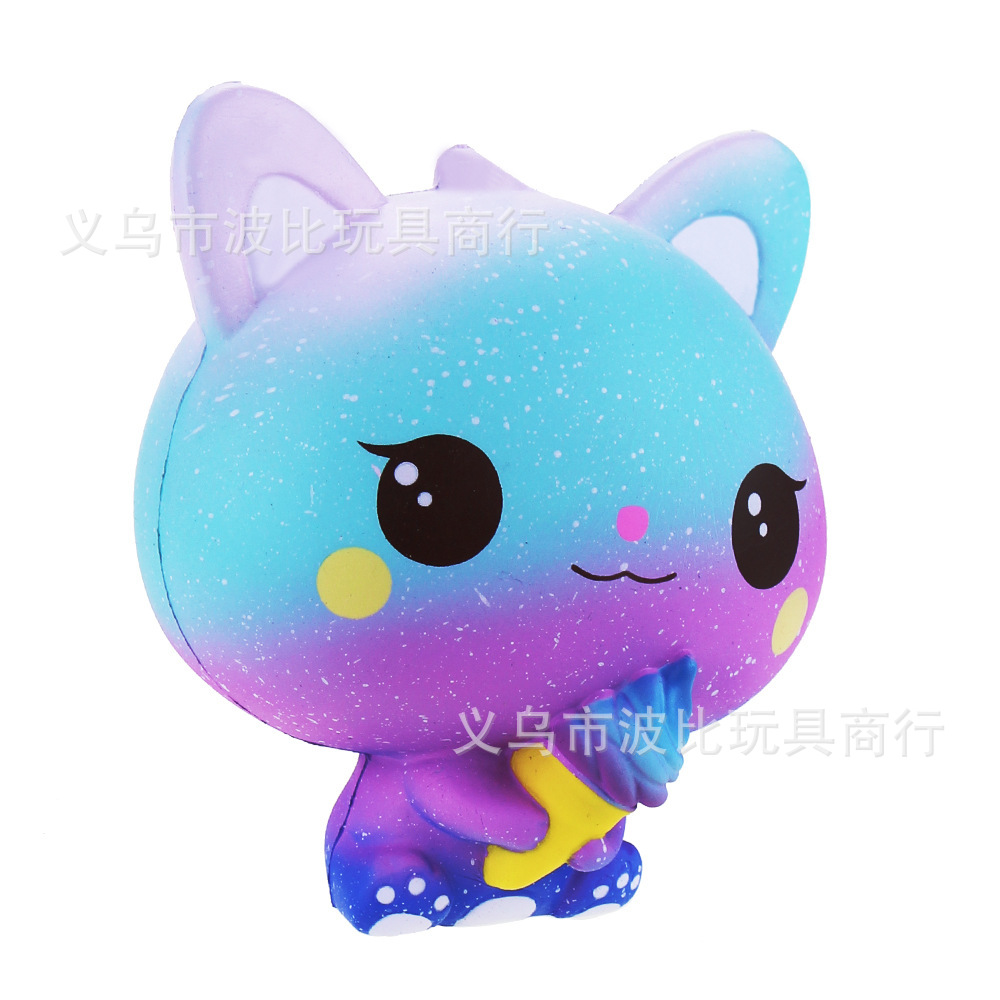 Antistress Squishes Cats PU Toy Kawaii Squishy Toys Healing Fun Stress Reliever Decompression Toy