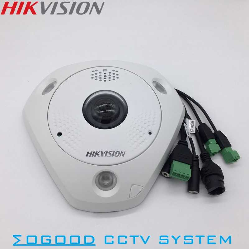 HIKVISION Chinese Version DS 2CD63C2F I 12MP Fisheye View 360 Indoor