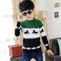 2015 new design good quality baby boy knitwear sweaters kids winter sweater autumn children small horse print logo sweater