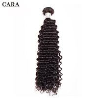 Deep Wave Bundles Brazilian Virgin Hair Weave Bundles 100% Human Hair Bundles Unprocessed Hair Extension 1/3 Bundles CARA