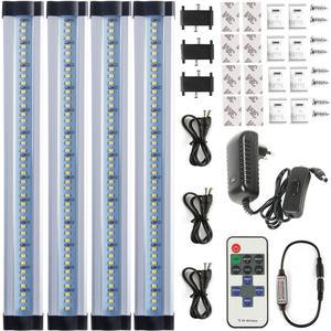 Светодиодная подсветка под шкаф, беспроводная, с затемнением, для кухни, 12 Вт