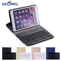 Eagwell 2 in 1 Bluetooth Keyboard Leather Case For Apple iPad 2 3 4 Tablet PC Wireless Keyboard Case Stand Protective Cover Skin