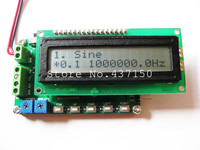 1PCS X ,DDS signal generator 0.1hz ~ 8Mhz Duty 1 ~ 99% 60MHz frequency counter, Free Shipping