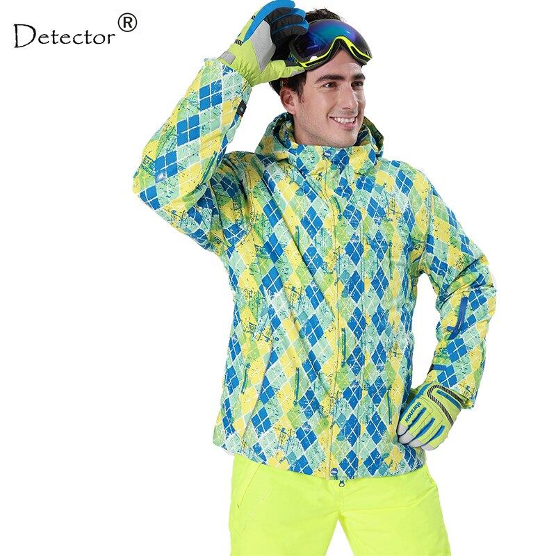 Détecteur hommes hiver veste de Ski imperméable coupe-vent thermique manteau randonnée Camping veste de cyclisme veste de neige hommes vêtements d'hiver