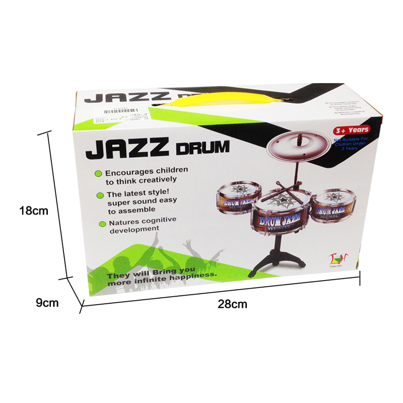 GLOBAL-DRONE-Children-Jazz-Drum-Toy-Cymbal-Sticks-Rock-Set-Musical-Hand-drum-Kids-diy-funny-Drums-Gift-Toy-5