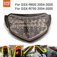 Motorcycle Integrated LED Tail Light Brake Turn Signal Blinker For Suzuki GSXR1300 Hayabusa GSX1300R 2008-2013 front turn signal light lens for suzuki hayabusa gsx1300r gsxr1300 2008 2012