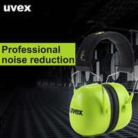UVEX K4 Professionale Paraorecchie Di Sicurezza di Protezione per le Orecchie di Riduzione Del Rumore SNR 35DB Regolabile Caccia Tiro Studio A Pelo Auricolare
