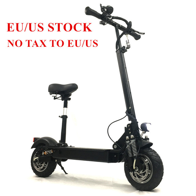 FLJ электрический скутер с 52 в/2400 Вт двигатели сильный Мощный самокат складной электрический скутер