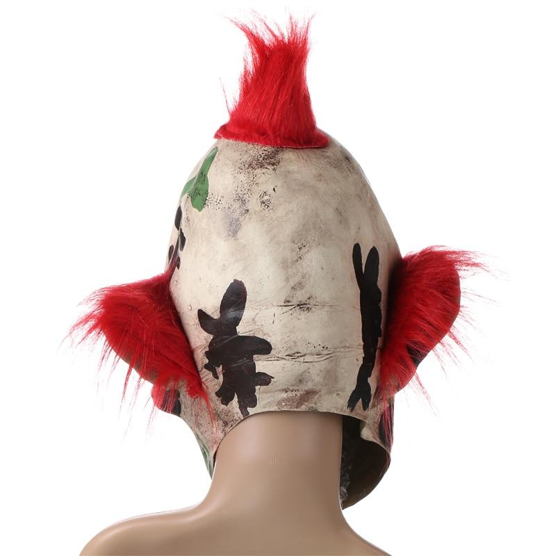H&D Scary Orejas puntiagudas Fantasma Payaso Máscara Fiesta de - Para fiestas y celebraciones - foto 3