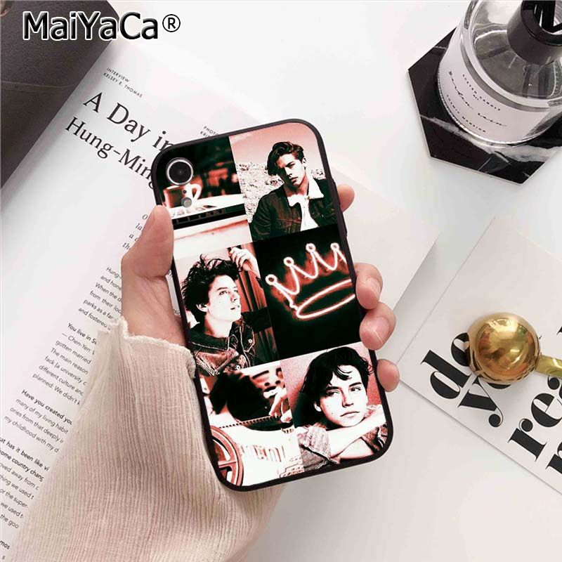 MaiYaCa American TV Riverdale Phone Case For iphone 11 Pro 11Pro Max 8 7 6 6S Plus X XS MAX 5 5S SE XR in Half wrapped Cases from Cellphones Telecommunications