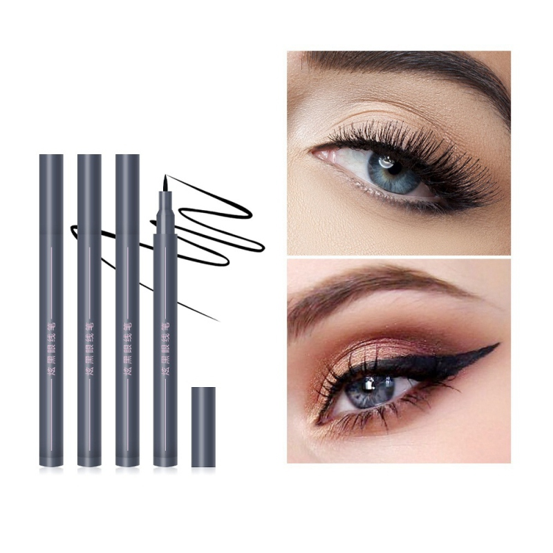 1pc Eyeliner Pen Stick Liquid Eye Liner Solid Black Makeup Long-lasting Easy To Wear Fast/Quick Dry Maquiagem eye liner