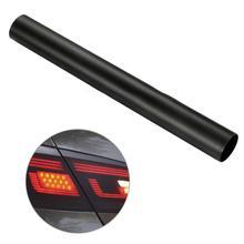 Samochód stylizacji 30*150cm matowy dym folia na światła samochodu matowy czarny odcień reflektor Taillight światła przeciwmgielne Vinyl Film tylna lampa folia barwiąca