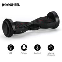 Koowheel 6.5 pollice 2 Ruote Smart Hoverboards con Altoparlante Bluetooth Auto Bilanciamento Scooter Elettrico per Bambini di Età K8
