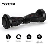 Koowheel 6.5 pulgadas 2 Ruedas eléctrico inteligente hoverboards con Altavoz Bluetooth auto equilibrio scooter para adultos K8