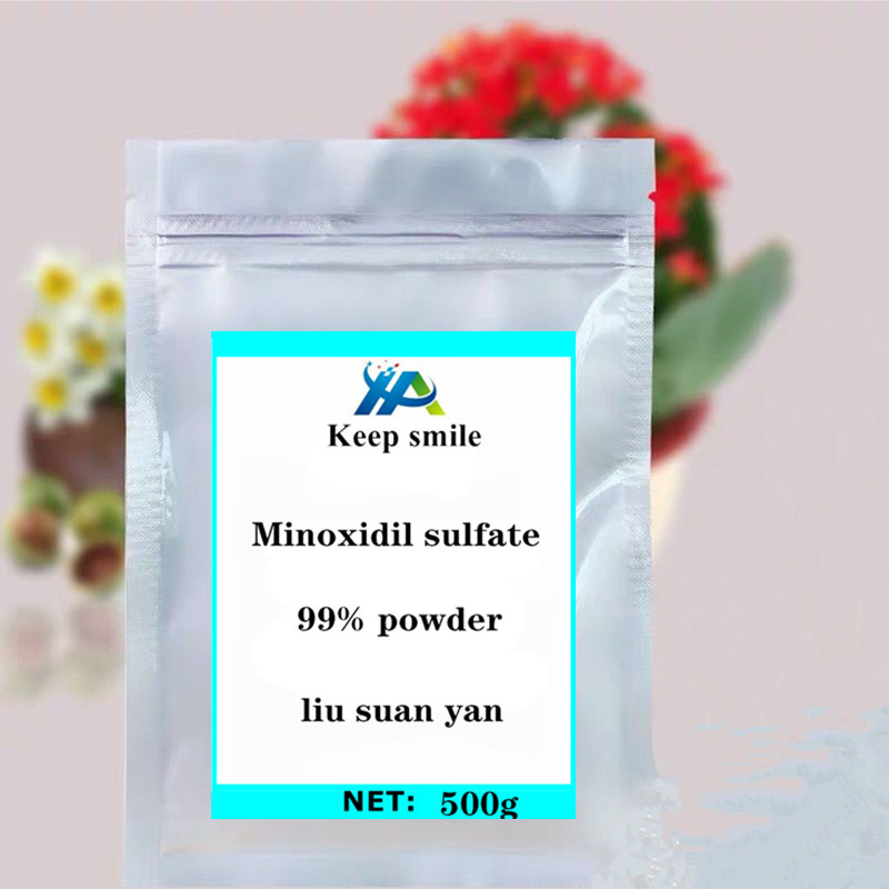 Hair loss hypertension treatment pure minoxidil sulfate powder glitter festival body crystals gems promoting hair regeneration in Body Glitter from Beauty Health