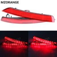 MZORANGE 1 Set Rode LED auto-styling achterlicht achterlicht Voor Subaru Forester impreza legacy Reflector koplamp fog lamp 08 ~ 16
