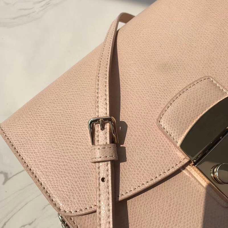 Dlnxy 21cm medium size beroemde merk echte koeienhuid lederen schoudertas handtas schoudertassen voor vrouwen-in Top-Handle tassen van Bagage & Tassen op  Groep 3