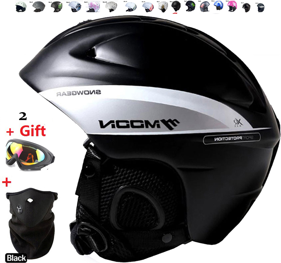 Arrive in 18 39 days font b Ski b font helmet Ultralight and Integrally molded professional