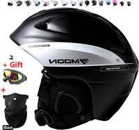 White Authentic Adjustable Professional Ski Cycling Helmets Racing Ultralight Snowboard Mountain Bike Motorcycle Moto Helmet